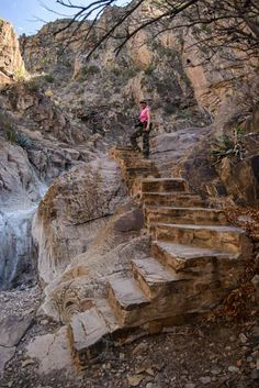 Window Trail Hike Big Bend National Park Texas