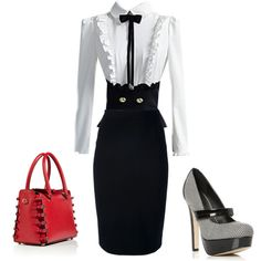 """""""Church Outfit"""" by soliel-borcena on Polyvore"""