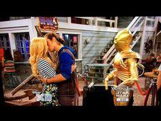 Kickin' It - Jack and Kim Kiss from Seaford Hustle - YouTube