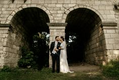 Outdoor Couple, Hungary, Real Weddings, Couples, Wedding Dresses, Style, Fashion, Bride Dresses, Swag