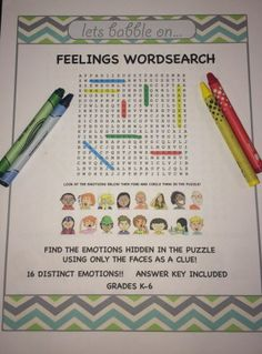 FREEBIE Great activity for building a robust emotion vocabulary.  Perfect for homework or independent work in the classroom.  Take a look to find out how to tie in the Zones of Regulation to this activity.