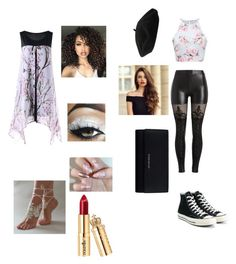 """""""I feel so free when your with me"""" by talitha-peverill on Polyvore featuring MACBETH, Converse, Givenchy, Goorin and ASAP"""