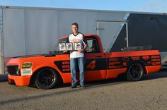 "We extend a huge congrats to our friend Bob Bertelsen for setting the fastest autocross laps at this past weekend's Syracuse Nationals in his LS7-powered ""Orange Rush"" '69 Chevy C-10 riding on Detroit Speed suspension, JRi Shocks coilovers, Baer Brakes, and 18-inch Forgeline CF3C wheels! See more at: http://www.forgeline.com/customer_gallery_view.php?cvk=1391  #Forgeline #CF3C #notjustanotherprettywheel #madeinUSA #Chevy #C10"