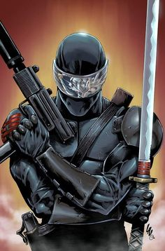 Shadow Of The Storm, Gi Joe Storm Shadow, Comic Book Heroes, Comic Books Art, Comic Art, Power Rangers, Snake Eyes Gi Joe, Dbz, Cobra Commander