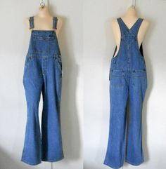Deadstock Women Denim Overall Women Overall by TheVilleVintage, $44.99