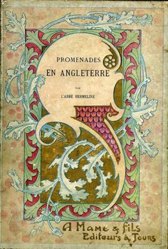 Promenade en Angleterre, par l'abbe Hermeline walking in England, A mame & fils editeurs a Tours France