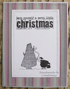 Mijn creatie(fje)s : Elke donderdag een kerstkaartje # 29