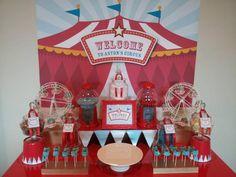 circus party ideas   ... Ideas via Kara's Party Ideas   KarasPartyIdeas.com #Circus #Party #