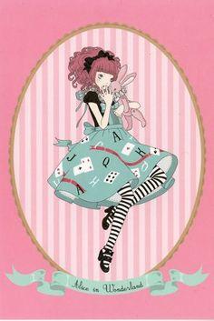 Imai Kira  Alice in Wonderland