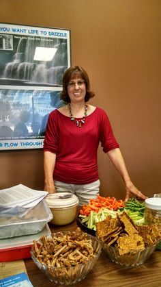 Healthy Snacks on the Go seminar held at Power Chiropractic Health Center 9/24/15.