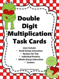 Math Task Cards:  Task Cards