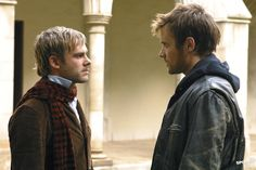 Dominic Monaghan and Neil Hopkins