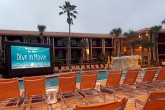 At the DoubleTree Orlando by Hilton at SeaWorld starting in June we will be showing our Dive in Movie's. You can find the Dive in Movie showings at the Laguna Pool, located right outside of the lobby behind the two lagoons. We will be posting a daily schedule! Stay Tuned!