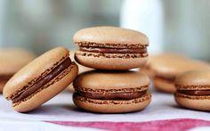 Receta: Macarons de chocolate