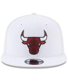 ba201d3ae91 New Era Chicago Bulls Team Metallic 9FIFTY Snapback Cap Men - Sports Fan  Shop By Lids - Macy s