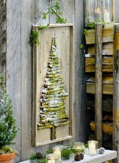 Christmas tree board.