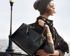Such a hot bag / Karlie Kloss and Liu Wen Are in an Empire State of Mind for Coach / ELLE magazine