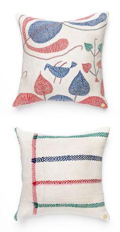 Gorgeous one of a kind artisan pillows.