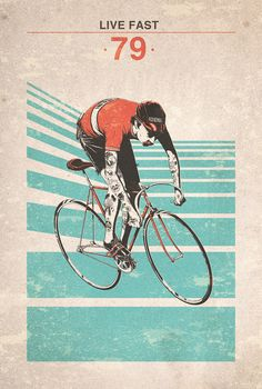 Kai Fine Art is an art website, shows painting and illustration works all over the world. Urban Cycling, Cycling Art, Bike Tattoos, Bike Illustration, Bike Poster, Design Poster, Graphic Design, Bicycle Art, Bike Style