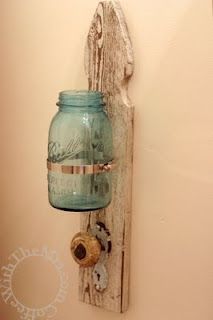 Shabby Chic Toothbrush and Towel Holder DIY {tutorial}