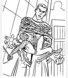 24 Best Spider Man Images On Pinterest Spiderman Coloring