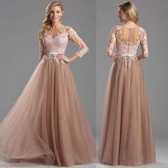 Rochii elegante crem tull dantela The Bride, Simple Prom Dress, Engagement Dresses, Beautiful Prom Dresses, Bridesmaid Dresses, Wedding Dresses, Dress For You, Dress Patterns, Pink Dress