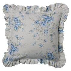 Simply Shabby Chic® British Rose Pillow Slipcover - Pair
