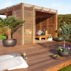 Covered Pergola, Wood Design, Meditation, Shed, Modern, Home And Garden, Deck, Backyard, Outdoor Decor