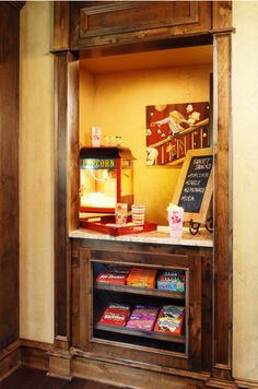 Movie Station! -Candy, Soda, Popcorn,
