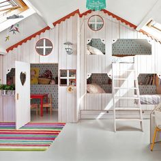 A wonder play house for children in the attic. | Modern Interior ...