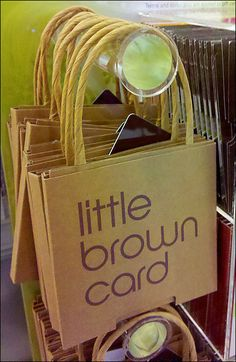 Bloomingdale s Little Brown Gift Card Browns Gifts fd8deeb5b4a40