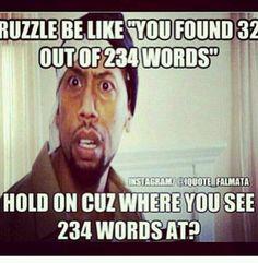 #ruzzle