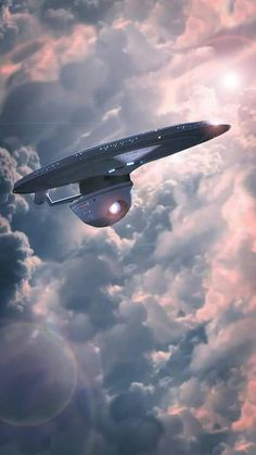 To the clouds, I'm being super cereal. Nave Enterprise, Star Trek Enterprise, Star Trek Voyager, Star Trek 1, Star Trek Ships, Vaisseau Star Trek, Design Transport, Star Trek Wallpaper, Uss Discovery