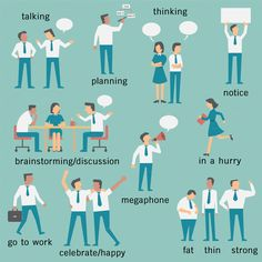 Business people in many activities by Smiley Creative on @creativemarket