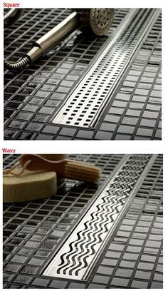No Curb or No Dam Shower's featuring Barrier Free Bathrooms (No-Hob): Low cost drains for barrier free no curb showers - ACO's QuartzPlus ~ http://walkinshowers.org/best-shower-drain-reviews.html