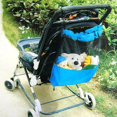 Baby Stroller Mesh Storage Bag by Baby in Motion