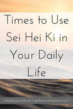Opportunities to use Sei Hei Ki in your daily life.Use Sei Hei Ki in your daily life, when you… Sei Hei Ki Reiki Symbol SHK Chakras, Was Ist Reiki, Sei He Ki, Usui Reiki, Reiki Courses, Reiki Training, Reiki Room, Reiki Therapy, Animal Reiki