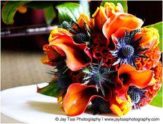 Pretty for Auburn-themed wedding