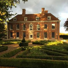 """""""The west front at Fawley House in perfect late afternoon autumnal sunshine #nofilterneeded"""""""
