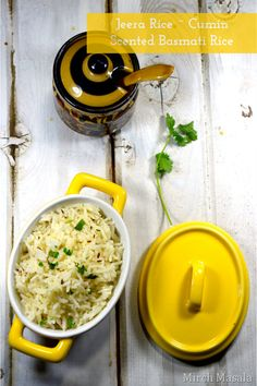 Jeera Rice Jeera Pulao - Cumin Scented Basmati Rice - Mirch Masala Healthy Eating Recipes, Vegetarian Recipes, Curry Recipes, Rice Recipes, Cooking Curry, Jeera Rice, Aloo Gobi, Indian Food Recipes, Ethnic Recipes