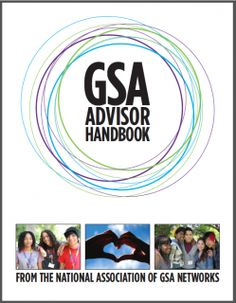 GSA Advisor Handbook | Gay-Straight Alliance Network Youth Group Activities, Middle School Activities, Counseling Activities, School Counseling, Educational Activities, Gay Straight Alliance, Lgbt Center, Lgbt Groups, Teen Library