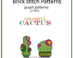 Colorful Mexico Owls set of 6 Brick stitch patterns or Peyote Beading Patterns, Peyote Stitch Patterns, Loom Beading, Brick Stitch Patterns, Brick Stitch Earrings, Native American Beading, Bead Weaving, Creations, Beads