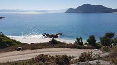 GALIZIA - Spiaggia Caraibica del Parco Nazionale delle Isole Cies, l'isola principale è stata nominata dal The Guardian come una delle 10 spiagge più belle al mondo.