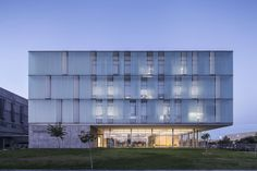 The building for the research laboratories of the National Institute for Biotechnology in the Negev (NIBN), is situated at the southwestern corner of the Be...