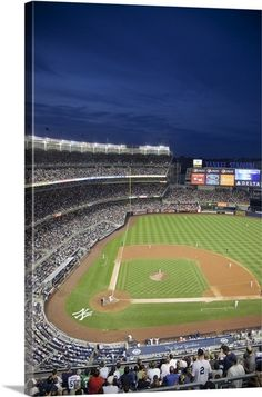 New Yankee Stadium Located In The Bronx York Baseball Wall Arthouse