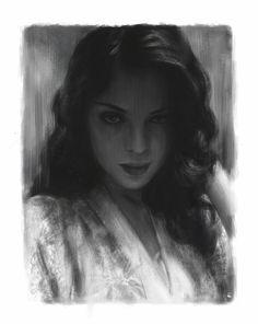 Awesome grayscale portrait art by Sule Yapıcı https://www.artstation.com/artwork/5-de7d34b8-c38a-4ad1-b44d-b73ca679ccef?utm_content=bufferf5ab0&utm_medium=social&utm_source=pinterest.com&utm_campaign=buffer #portraitart #digitalart