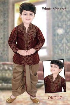781ddcc5d Maroon Kurta With Dhoti Modi Jacket, Western Suits, Wedding Men, Wedding  Suits,