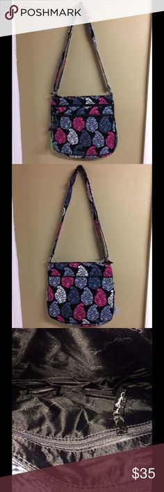 Vera Bradley Northern Lights Triple Zip Hipster The Triple Zip Hipster has an adjustable strap with a silver buckle. There are three large compartments and the exterior back has a large slip in pocket. The in has a zippered pocket. This comes from a smoke free and pet free home! Vera Bradley Bags Crossbody Bags