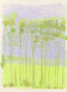 Pastels - Wolf Kahn