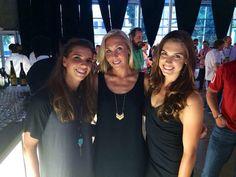 Tobin Heath, Allie Long, Alex Morgan 2014 MLS all star game